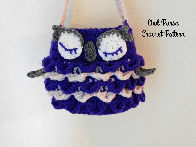 Crochet owl purse pattern crochet pattern crochet owl zoom bankloansurffo Image collections
