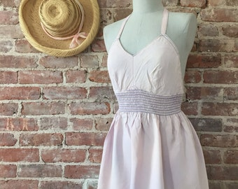 Size S Skirted 1940s Swimsuit / Swim Suit / Vintage Bathing Suit
