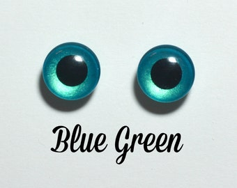Eyechips 13 mm - colour Blue Green size Pullip recent models