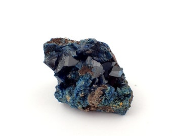 Lazulite from Yukon Territory, Canada - 22gm / 29mm x 22mm x 24mm (F8322)