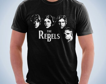 The Rebels - The Beatles Shirt | Star Wars Shirt | T-shirt for Women Men | Funny t-shirt for kids