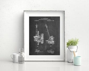Bobbin Winder for Sewing Machines Poster, Sewing Machine Patent, Sewing Machine Print, Sewing Macine Art, Sewing Machine Blueprint, PP0747