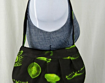 Green Jellyfish Purse