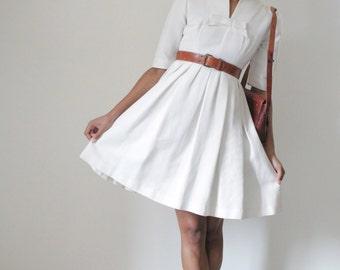 50's wedding dress (SXS / S)