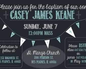 Baptism/Christening Digital Printable Invitation