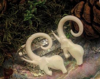 Elephant Ear Gauge Dangles