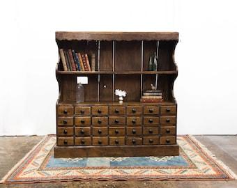 Beautiful Apothecary Chest Shelf