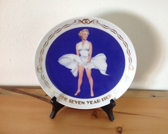 Marilyn Monroe,  The Seven Year Itch Collector's Plate