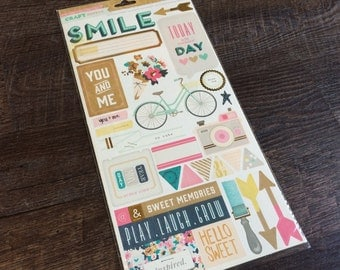 Crate Paper Craft Market 252 Accent Stickers