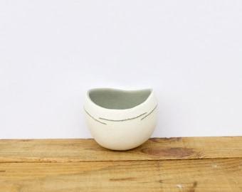 small GREY pot