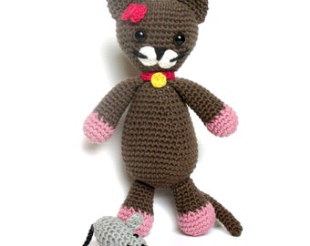 Amigurumi Kitty Ring Holder : Arthur Monkey The Ami Amigurumi Crochet Pattern Digital