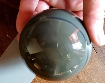 80mm Green Obsidian Sphere
