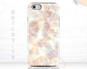 iPhone 6 Case Pastel Light Marble iPhone 6s Case iPhone 6+ Case Edge Wrap iPhone 6sPlus Case Cute iPhone 7 Cover Pink Galaxy S7 case  07z