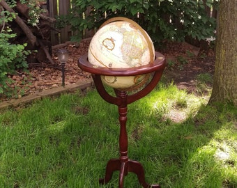 Replogle 12 Inch Diameter World Classic Series Globe on Stand