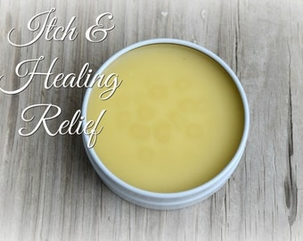 Bug Bite Ointment, Natural Itch Relief & Healing For Bug Bites