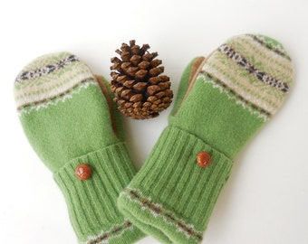 Sweater mittens, felted wool mittens, mittens, gloves, winter accessories, made in Michigan,gift for her, accessory,eco friendly,wool gloves