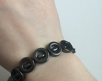 Mirrored Gray Bracelet
