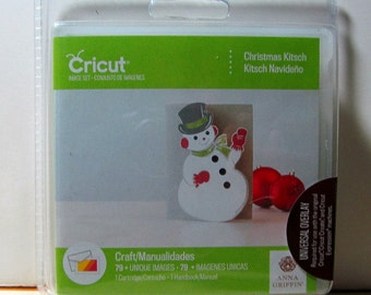 Cricut Cartridge Christmas Kitsch Anna Griffin Brand New