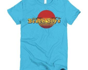 Beach Boys Ladies T-shirt Surfs Up