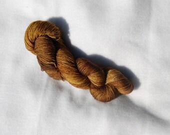 Sock Yarn 75/25 BFL/Nylon - Chestnut Summer