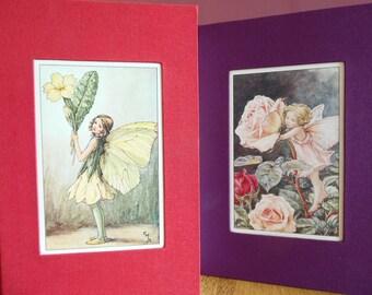 Flower Fairy, Blank Handmade Notebook/Journal