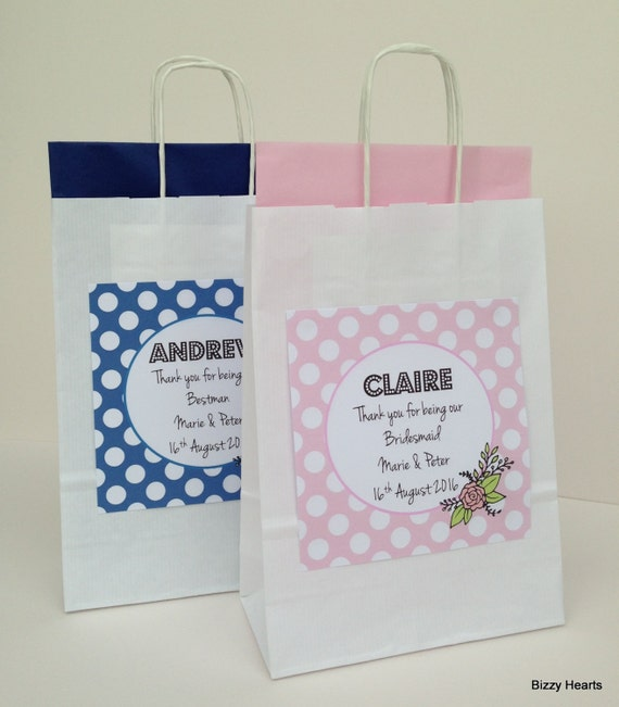 Personalised Wedding Gift Bags Uk : ... Gifts Guest Books Portraits & Frames Wedding Favours All Gifts