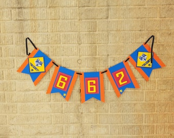 Cub Scout Pack Banner