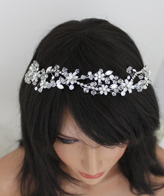 Bridal Hair Vine Headpiece Wedding Headpiece Swarovski