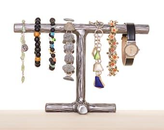Bracelet Holder, Watch Holder, Metal Jewelry Stand, Jewelry Tree, Jewelry Display, Bracelet Stand, Metal Art, Bracelet Display, Watch Hanger
