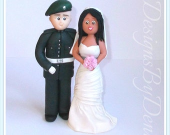 royal marine wedding cake toppers marine cake topper etsy 19407