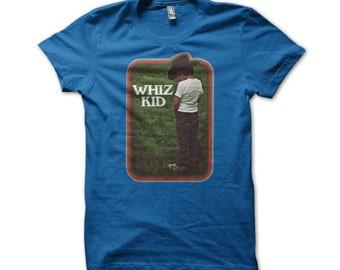 Funny Whiz Kid American Apparel T-Shirt- K141