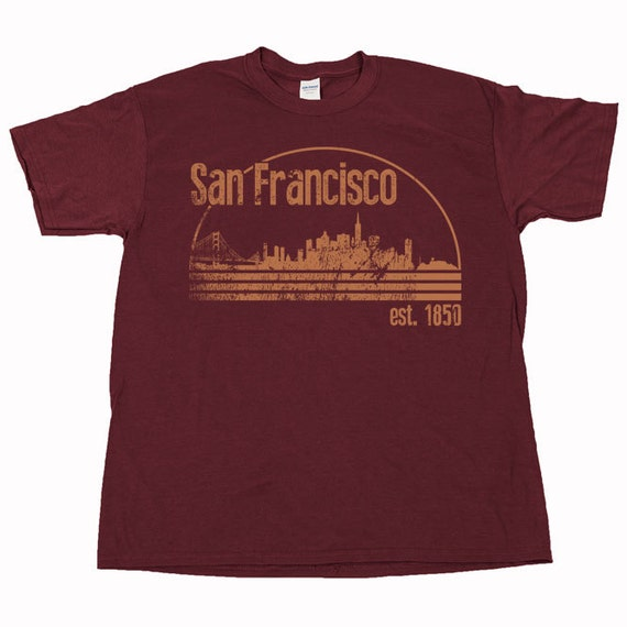 San francisco fran frisco the city by the bay by shirtquarters for Bespoke shirts san francisco
