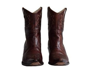 Womens cowboy boots   Etsy
