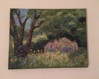 Meadow Field Landscape (30x23cm)