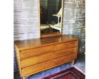 Mid Century Modern Lowboy Dresser
