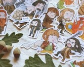 Hobbit stickers