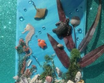 Baby Creatures Under the Sea Wall Plaque
