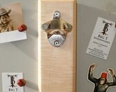 Curly Maple Magnetic Bottle Opener