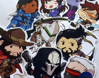Overwatch Sticker Set