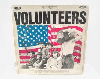 Vintage Volunteers Jefferson Airplane Vinyl LP Record Album RCA LSP-4238