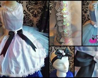 Alice Tutu Dress/Alice Tutu/Alice Costume/Alice Dress/Wonderland Tutu/Wonderland Tutu Dress/Wonderland Dress/Wonderland Costume/