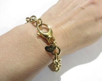 Milor Italy Bronze Oval Link Bracelet