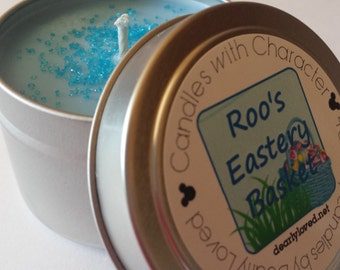ROO'S EASTERY BASKET - Candles with Character (Seasonal) | Soy Wax | Hand Poured | Disney Scented | Wedding Favors | Easter | Roo