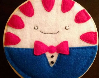 Adventure Time Peppermint Butler Embroidery Hoop