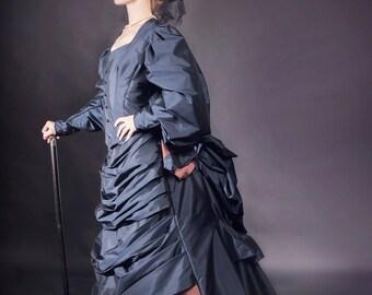 Victorian Walking Gown
