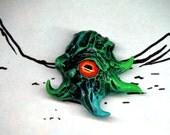 Special Edition Retro Sci-Fi Pendant Creature