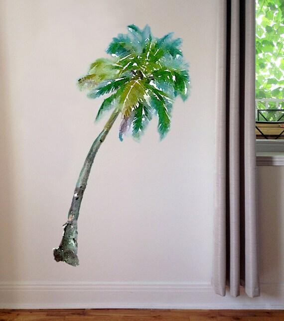 palm tree wall sticker palm tree decal tropical decor