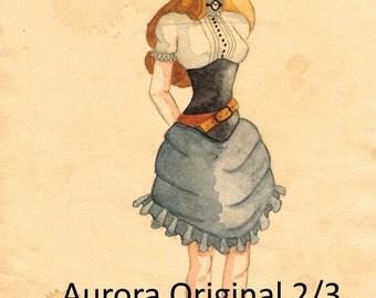 Steampunk Aurora ORIGINAL