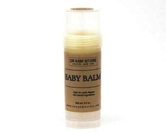 Baby Balm Organic Diaper Cream Stick, Calendula Balm, Organic Baby Lotion, New Baby, Baby Shower Gift, Natural Baby Care, Cloth Diaper Stick
