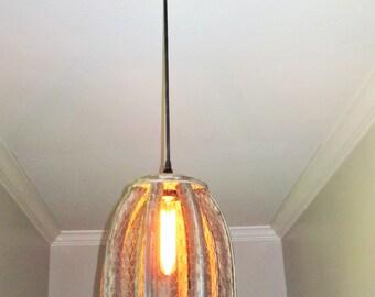 Chicken Wire Farmhouse Pendant Light - Small- rustic lighting, pendant lighting, kitchen lighting